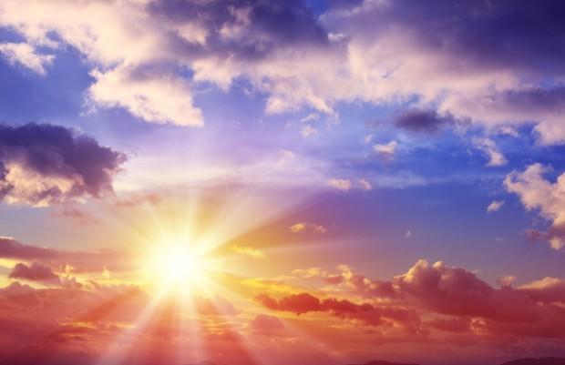 Beautiful Sunset Cloudscape